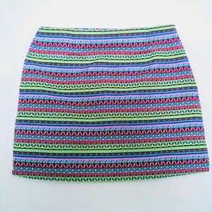 Aztec Print Skirt size XL 100% cotton New